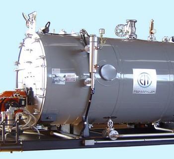 caldeira a vapor industrial